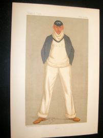 Vanity Fair Print 1893 William Alfred Littledale Fletcher, Rower